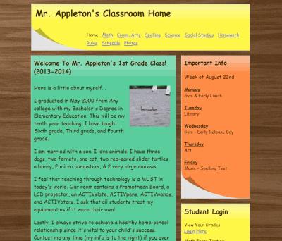 Sample Amazing Classroom Websites   AmazingClassroomcom eNfgkcaX