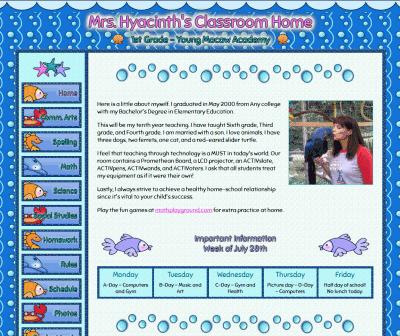 sample amazing classroom websites amazingclassroom com