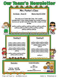 screen Teacher Newsletter To Parents Templates on for first grade, word doc, owl theme, free preschool, for elementary,