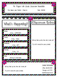 Meet The Teacher Template Editable Teaching Resources