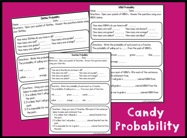 5th Grade Math Ratio Worksheets likewise Spooky Math Worksheets ...