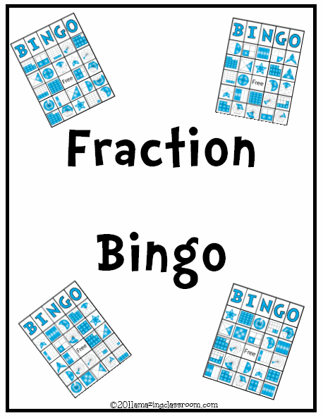 photo relating to Printable Fraction Games titled Printable Worksheets - Game Web pages for Instructors - with