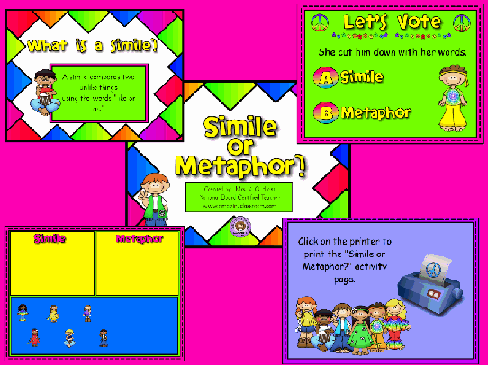 5th Grade Resources Page 26 Activinspire Flipcharts Smart. Simile Or Metaphor Flipchart. Worksheet. Voting Worksheets For 5th Grade At Clickcart.co