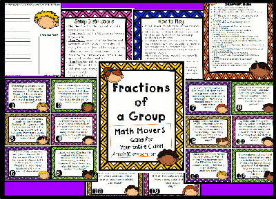 Fractions of a Group Math Movers
