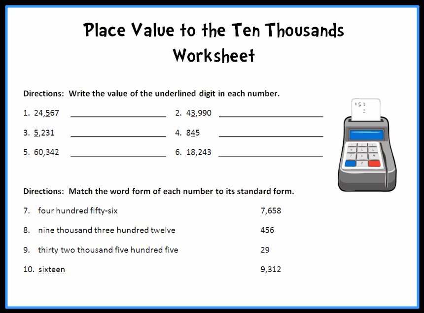 math worksheet : math  numbers  operations  place value  common core state  : Math Place Value Worksheets 4th Grade
