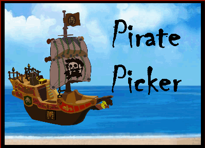 Random Pirate Student Picker