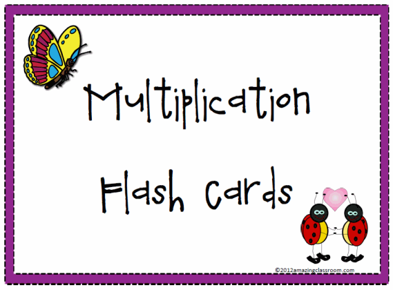 picture regarding Multiplication Flash Cards Printable Front and Back named Multiplication Flash Playing cards Printable Worksheet with Option