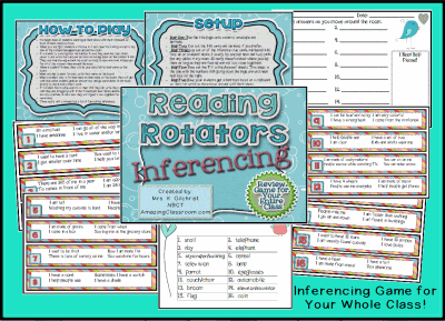 Reading Rotators Inferring Game