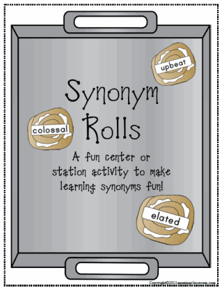 Synonym Rolls Center Activity