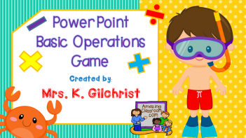 Basic Operations PowerPoint Game