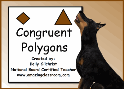 Worksheets Congruent Polygons Worksheet math geometry polygons common core state standard lessons congruent shapes