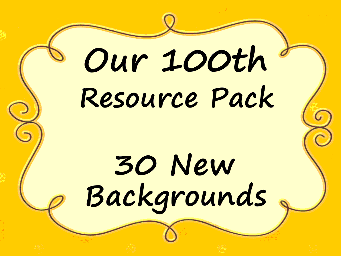 100th Resource Pack 30 Backgrounds