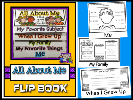 All About Me Flip Book