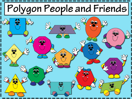 Polygon People and Friends
