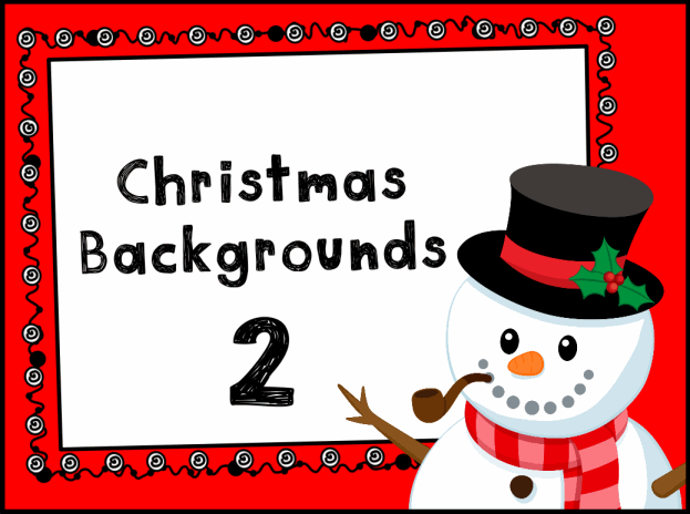 Christmas Backgrounds Resource Pack