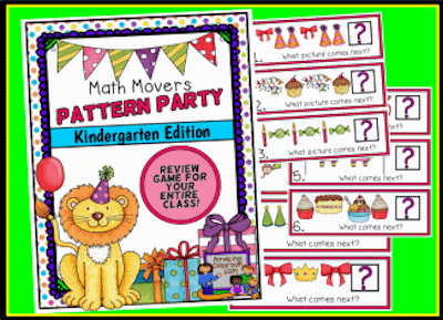 Math Movers Pattern Party