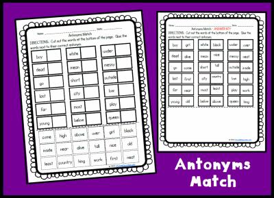 Homework help antonyms
