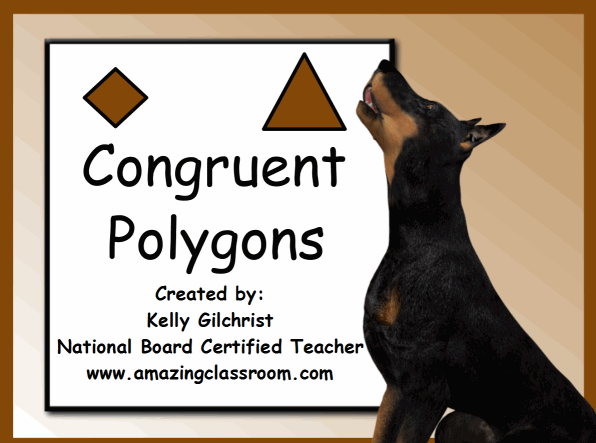 Math Geometry Polygons Common Core State Standard Lessons – Congruent Polygons Worksheet