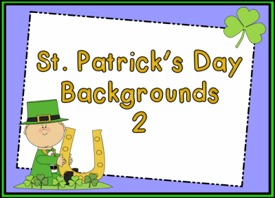 St. Patrick's Day 2 Backgrounds