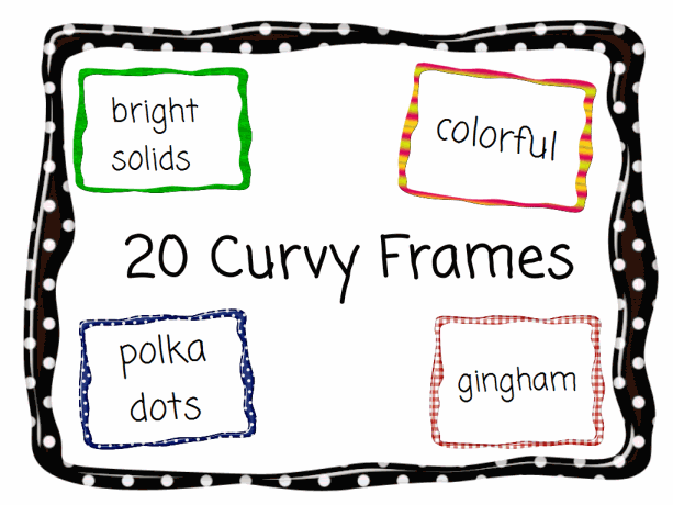 20 Curvy Frames in Different Styles