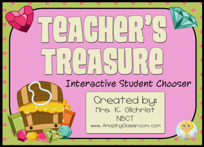 Teachers Treasure Name Picker