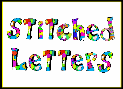Stitched Letters Alphabet Set