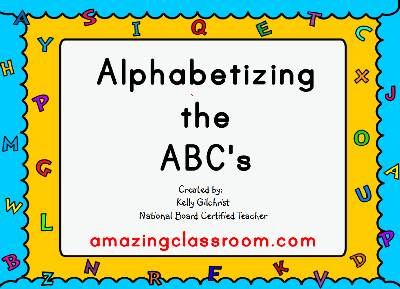 Alphabetizing the ABC's