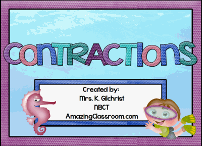Contractions Promethean Lesson