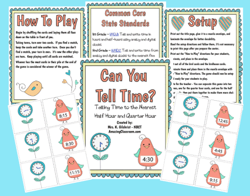 Can You Tell Time Math Center Printable Worksheet With Answer Key. Can You Tell Time Math Center. Printable. Telling Time Printable Worksheets At Clickcart.co