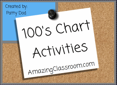 100's Chart Activities Smart Lesson