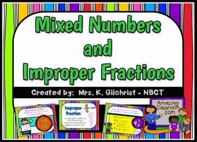 how to add improper fractions together