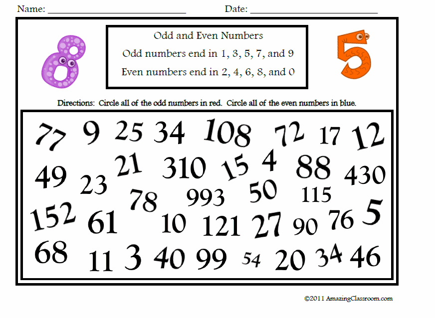 Odd And Even Numbers Lessons Tes Teach – Odd and Even Numbers Worksheets