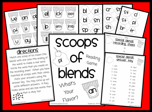Printable Worksheets Activity Pages for Teachers with Answer Keys – Blend Worksheets Kindergarten