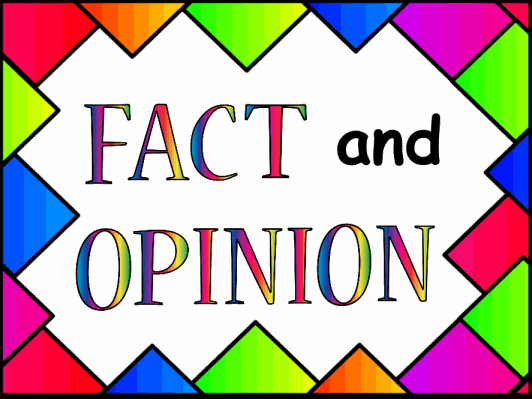 Communication Arts - Reading - Fact & Opinion - Common Core State ...